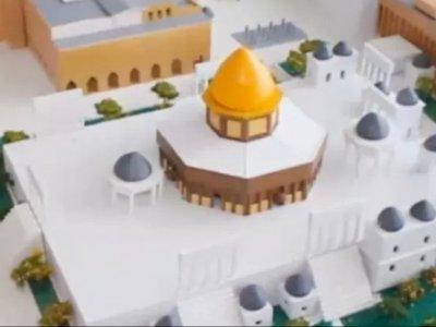 Begini Replika Masjid Al Aqsha Palestina yang Akan Dibangun di Sukamakmur Bogor
