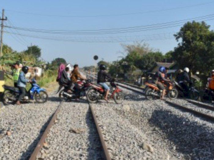 Banyak Perlintasan Liar di Sumut, PT Kereta Api Indonesia Tutup 82 Titik