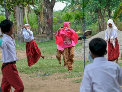 FOTO: Kegiatan Sekolah Alam Selama Pandemi COVID-19