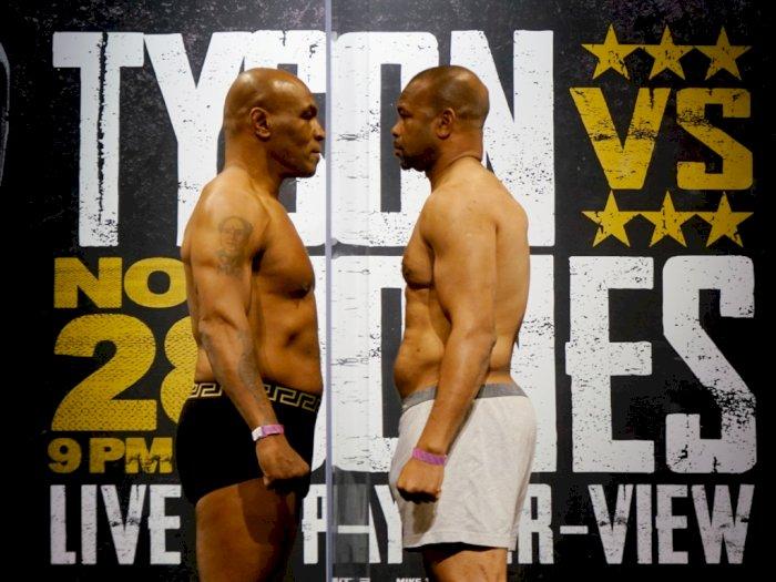 Mike Tyson Ingin Kembali Menaiki Ring Usai Imbang Berlaga Melawan Roy Jones