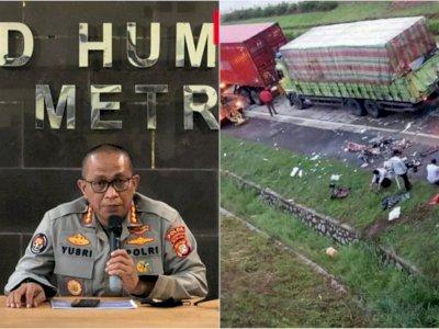 POPULER: Jika Rizieq Shihab Tak Penuhi Panggilan, Nama Korban Tewas Kecelakaan Tol Cipali