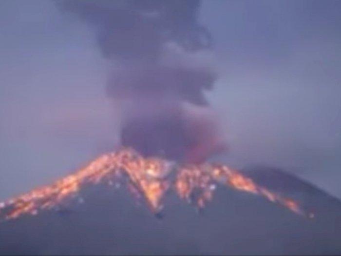 Dampak Erupsi Gunung Semeru Sekitar 550 Warga Diungsikan Ke Tempat Aman Indozone Id