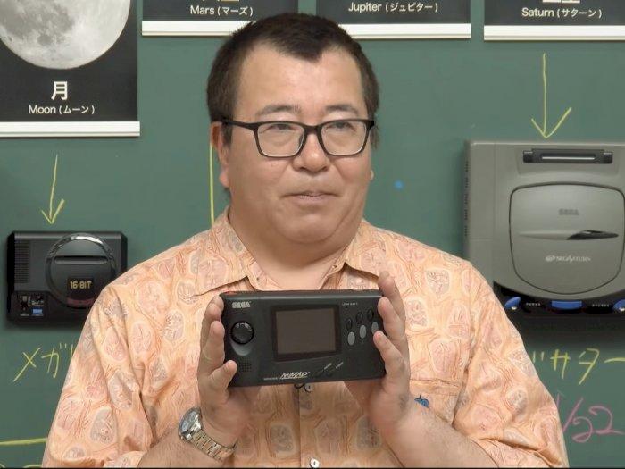 SEGA Perlihatkan Prototype Console Genesis Nomad untuk Pertama Kalinya