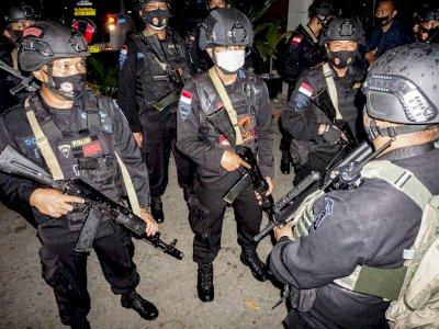 FOTO: TNI dan Polri Siaga di Jayapura