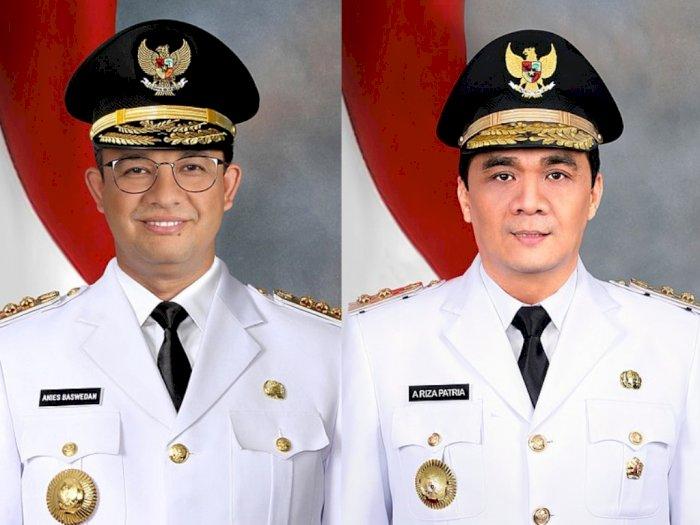 Anies dan Riza Patria Positif Covid-19, Begini Nasib Roda Pemerintahan di Jakarta