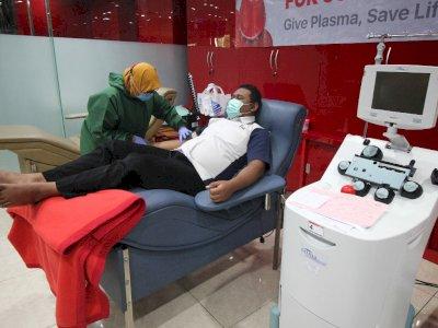 FOTO: Donor Plasma Darah Konvalesen