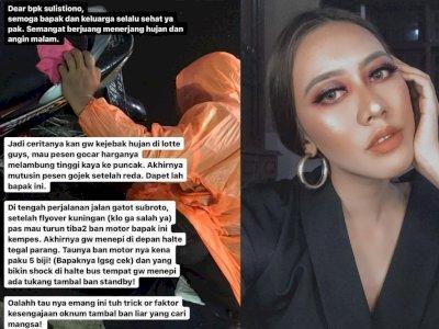 Curhat Kesal Cewek Diturunin Ojol karena Ban Bocor, Ternyata Ulah Tukang Tambal Ban Nakal