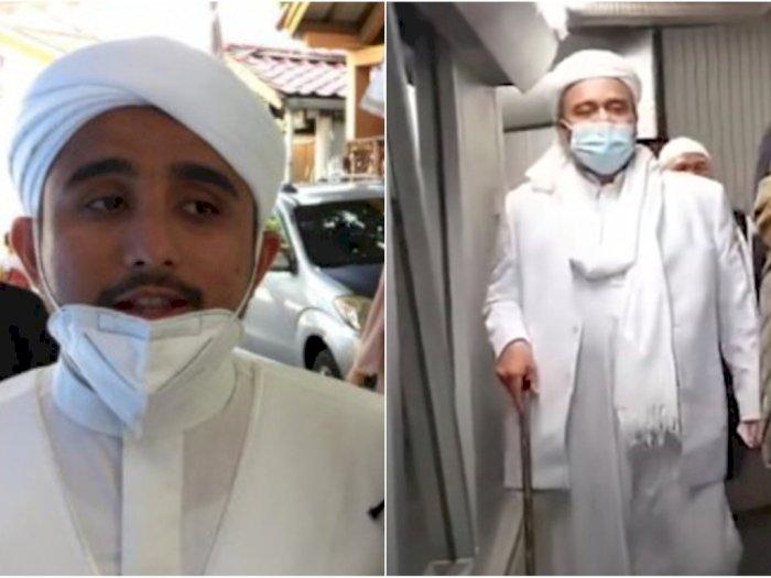 Rizieq Shihab dan Menantunya Ditunggui Polisi Sampai Malam, Ada Apa?