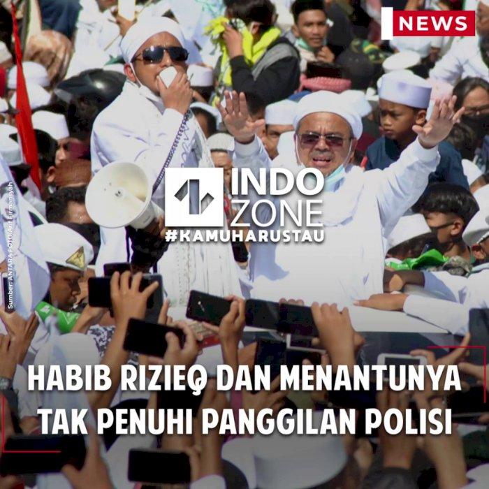 Habib Rizieq dan Menantunya Tak Penuhi Panggilan Polisi