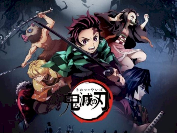 Anime 'Demon Slayer ' Geser 'Titanic' di Box Office Jepang