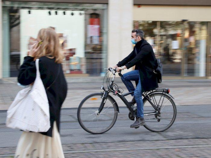 Lawan Virus Corona, Prancis Beri Subsidi 50 Euro pada Warganya untuk Perbaiki Sepeda Tua