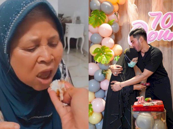 Momen Robby Purba Suapi Ibunya Pakai Tangan, Banjir Pujian dari Netizen