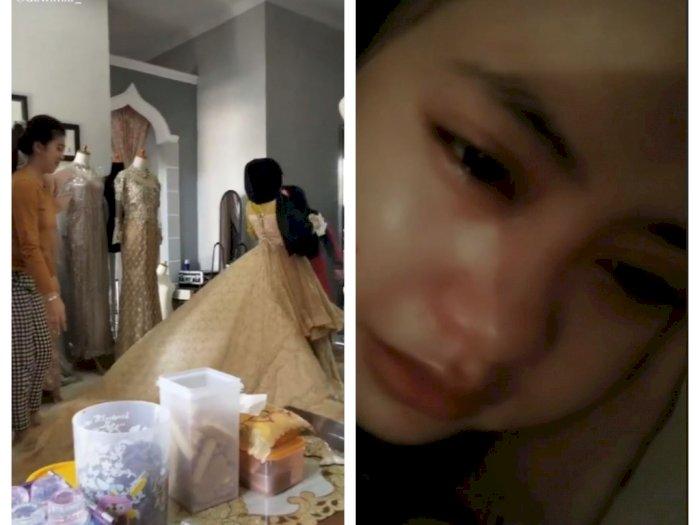 1 Minggu Lagi Nikah dan Siap Sebar Undangan, Wanita Ini Nangis karena Gagal Nikah