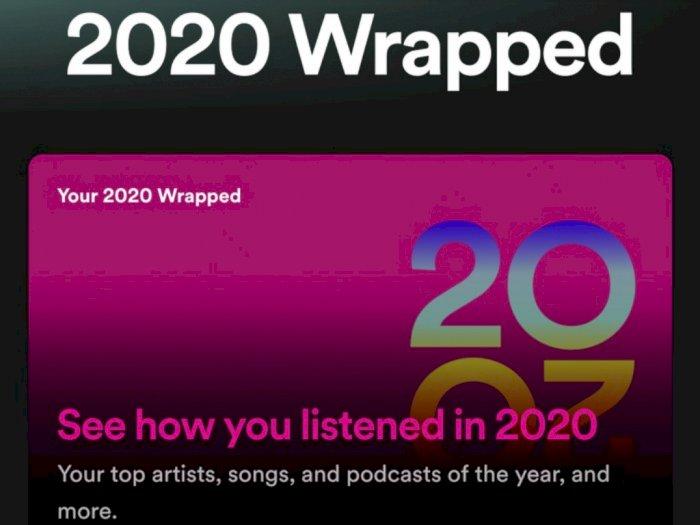 Cara Buat Spotify Wrapped 2020 dan Share ke Media Sosial, Mudah dan Cepat