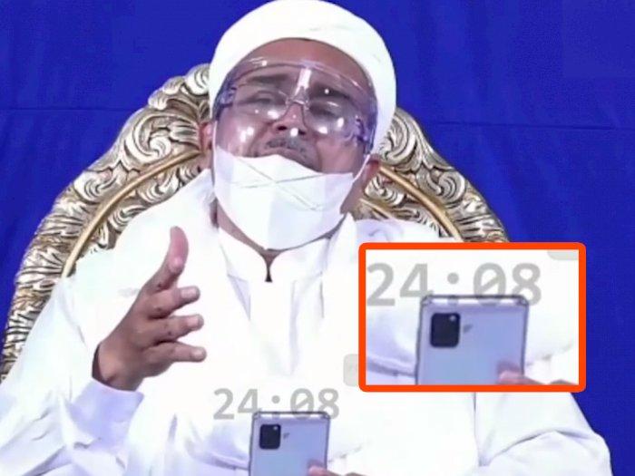 Menebak Smartphone Apa yang Digunakan Oleh Habib Rizieq Shihab