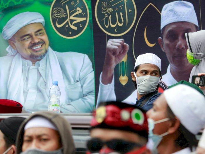 Reuni 212, Rizieq Shihab Gaungkan Persatuan: Mau Sampai Kapan Kita Bergaduh?