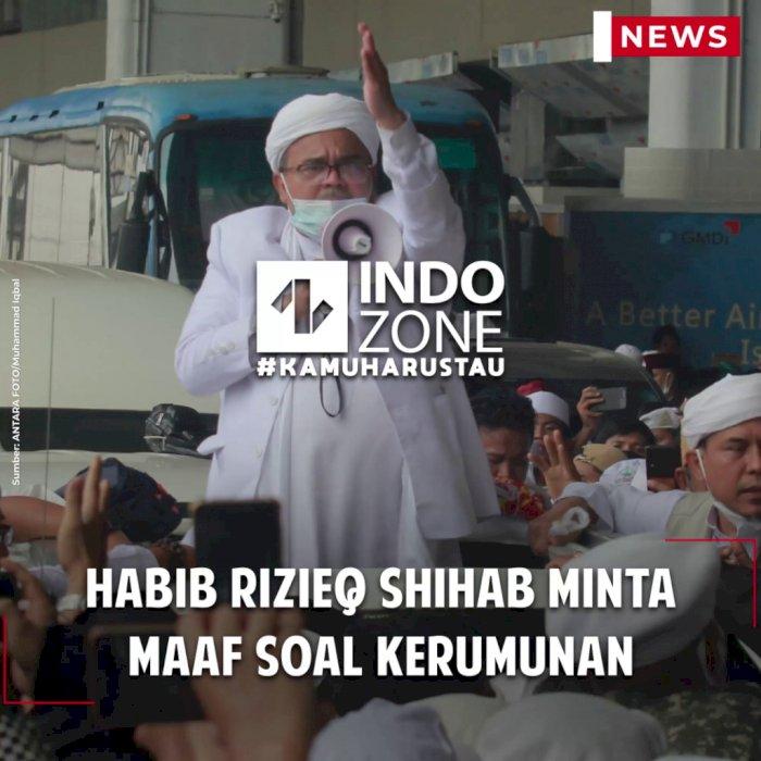 Habib Rizieq Shihab Minta Maaf soal Kerumunan