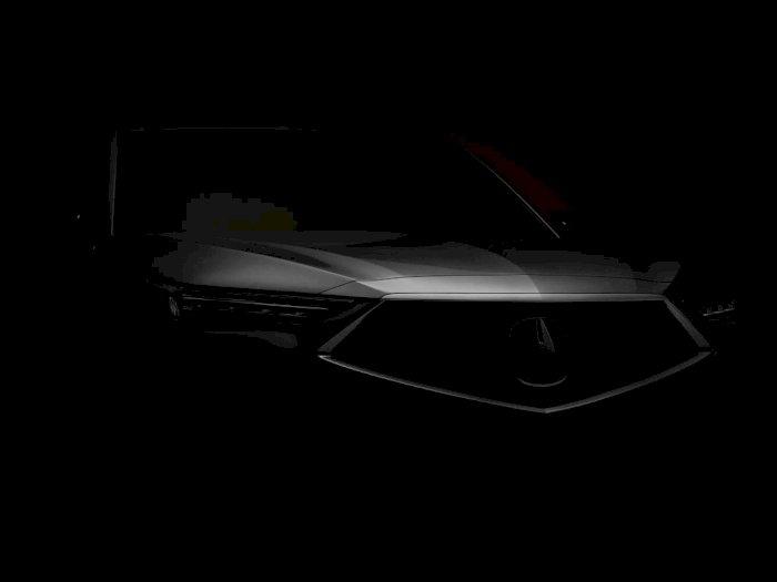 Acura Pamerkan Teaser Mobil MDX 2022 yang Bakal Diumumkan 8 Desember Nanti!