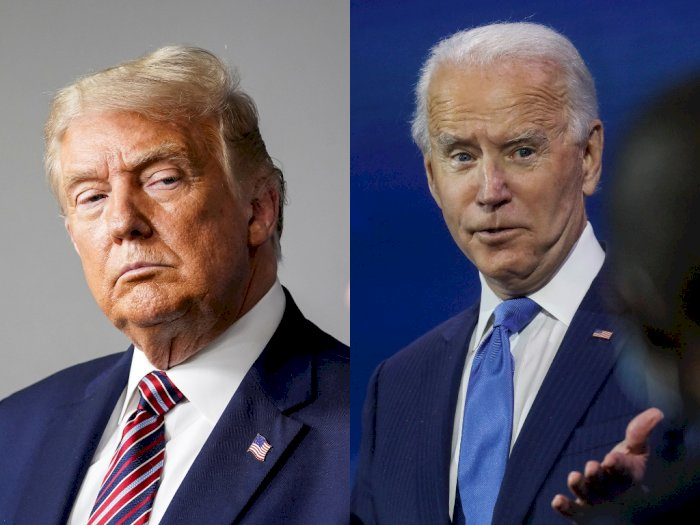 Donald Trump Kehilangan 133 Ribu Follower di Twitter, Joe Biden Kumpulkan Jutaan Pengikut