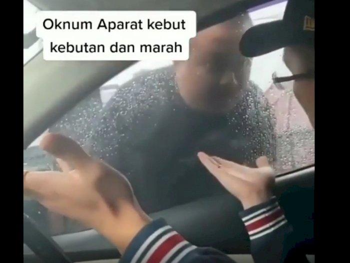 Viral Video Diduga Aparat Arogan di Jalanan, Netizen: Emangnya Negeri Ini Punya Neneknya