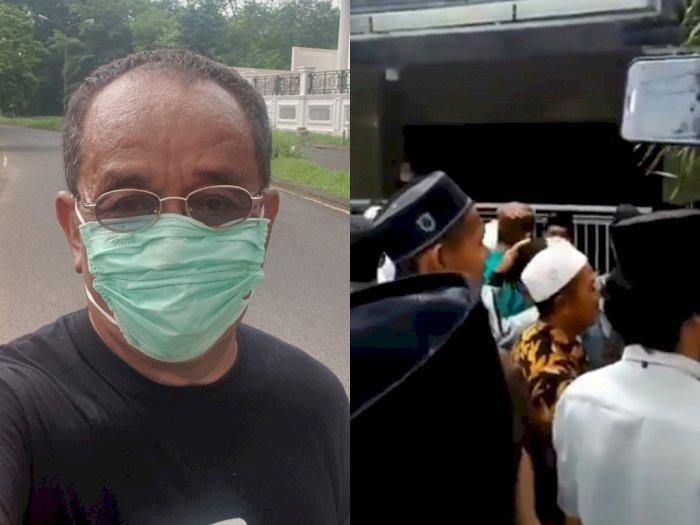 Meski Sering Kontra dengan Mahfud MD, Said Didu Kecam Aksi Gerebek Rumah Ibunya
