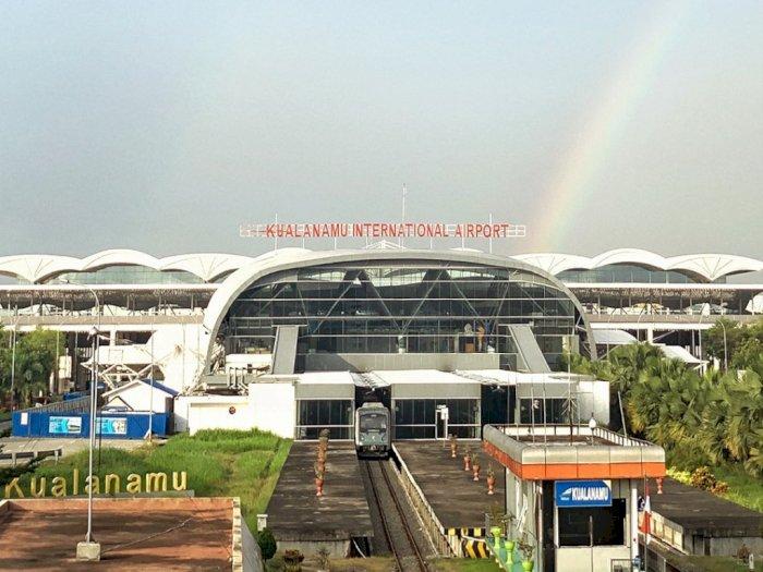 Dampak Covid-19, Jumlah Penumpang Domestik di Bandara Kualanamu Anjlok 50 Persen