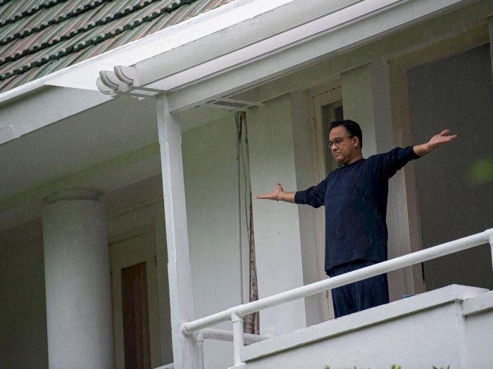 FOTO: Isolasi Mandiri Gubernur Anies Baswedan