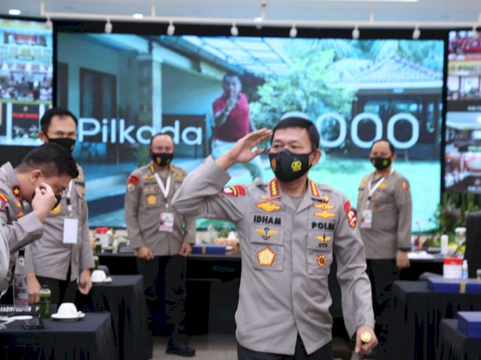 Kapolri Tekankan Netralitas Anggotanya di Pilkada dan Jadi Pelopor Protokol Kesehatan