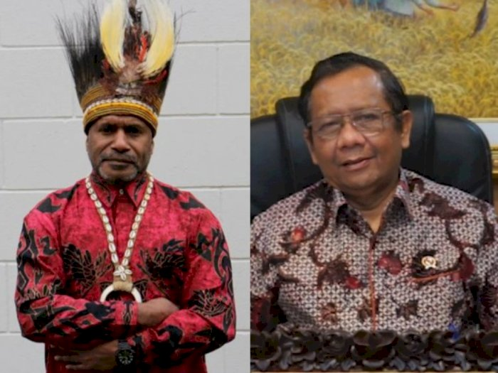 Deklarasi Kemerdekaan Papua Barat, Mahfud MD: Benny Wenda Dirikan Negara Ilusi