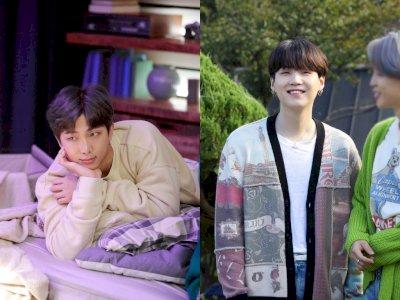 Keren! RM dan Suga BTS Debut di 10 Besar 'Hot 100 Songwriters' Billboard