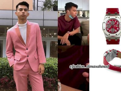 Dimas 'Kembaran' Raffi Ahmad Pakai Jam Seharga Rp455 Juta, Bikin Netizen Melongo!