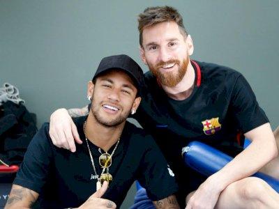 Sinyal Reuni, Neymar: Tahun Depan Saya Ingin Bermain Lagi dengan Messi