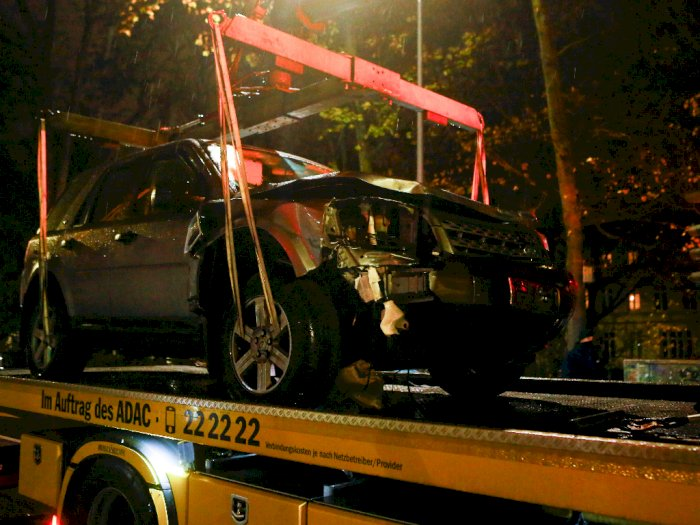 FOTO: Lima Orang Tewas pada Kecelakaan Mobil di Jerman, Termasuk Seorang Bayi