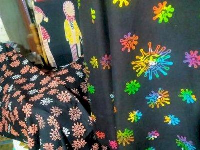 Kreatif, Desainer Ini Jadikan Covid-19 Motif Batik Demi Perkuat Sosialisasi Tekan Pandemi