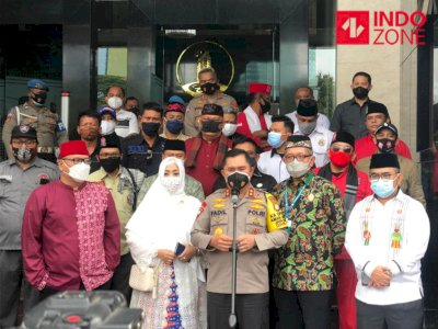 Ormas Betawi Geruduk Polda Metro, Ternyata Mau Silaturahmi Dengan Kapolda