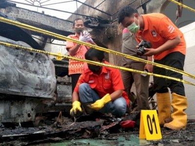 Rumah Pejabat Dinkes Tulungagung Dibakar Orang Tak Dikenal, Diduga Karena Dendam Pribadi