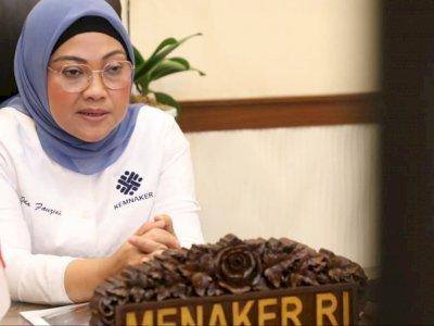 Menaker Ida Fauziyah Positif Covid-19