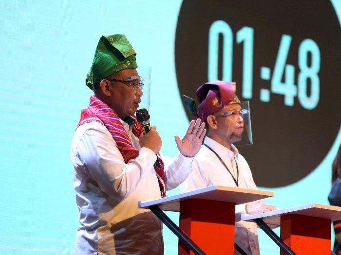 Soal Tema Debat Terakhir Pilkada Medan, Akhyar Sebut Janji Jokowi ke Pemko Belum Selesai