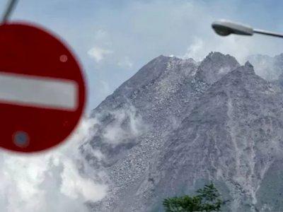 Tercatat, Gunung Merapi Mengalami 39 Kali Gempa Guguran