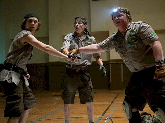 Sinopsis Film Horor Komedi 'Scouts Guide to the Zombie Apocalypse (2015)'