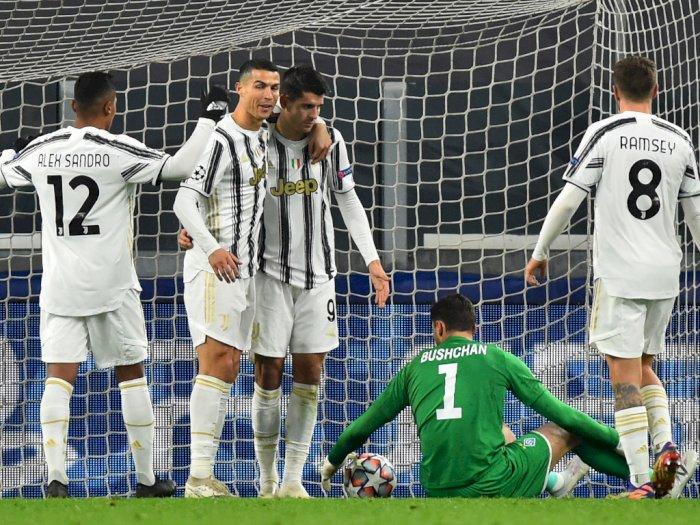 Juventus Vs Dynamo Kiev 3-0, Juventus Melaju Babak 16 Besar Liga Champions