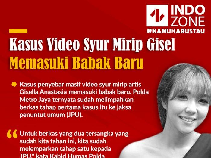 Kasus Video Syur Mirip Gisel Memasuki Babak Baru