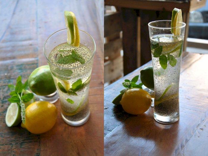 Cobain 'Chia Fresca,' Minuman Lemon dengan Biji Chia yang Segar