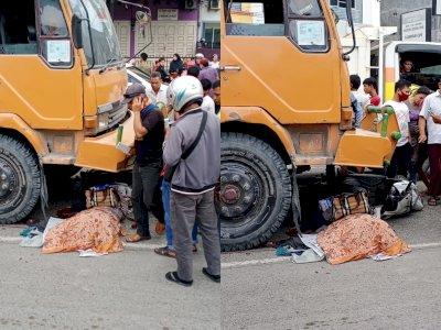 Memilukan, Wanita Bergelar SH Tewas Dilindas Truk Tronton di Medan, Rem Truk Blong