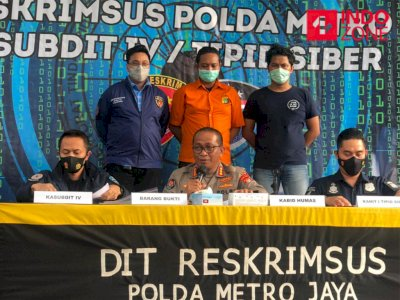 Polda Metro Ciduk Kurir Dokumen yang Masif Sebar Video Azan Kalimat 'Hayya Alal Jihad'