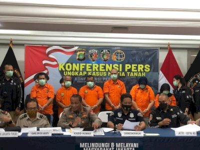 Polda Metro Tangkap Sindikat Mafia Tanah yang Gadai Sertifikat Korban Rp6 M