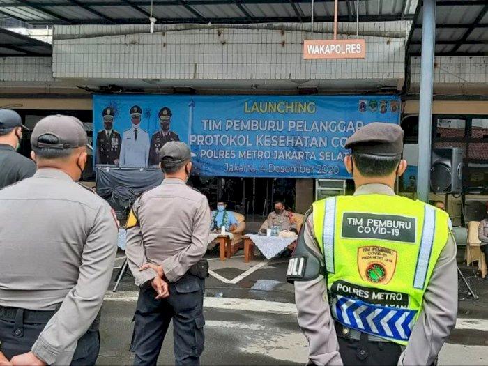 Antisipasi Perayaan Tahun Baru, Pemkot Jaksel Surati Tempat Usaha agar Terapkan Prokes