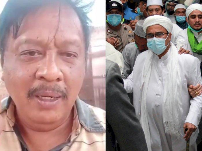Sadis! Pria Mengaku Polisi Ini Ancam Bunuh Rizieq Shihab, 'Saya Siap Sembelih Lehernya'