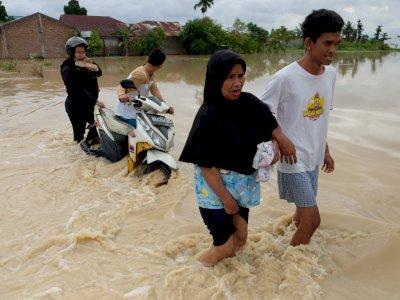 FOTO: Banjir di Deli Serdang