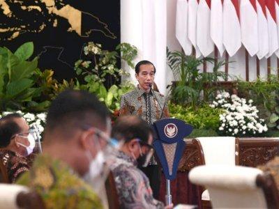 Presiden Jokowi Sebut Daya Saing Ekspor Nasional Harus Lebih Ditingkatkan